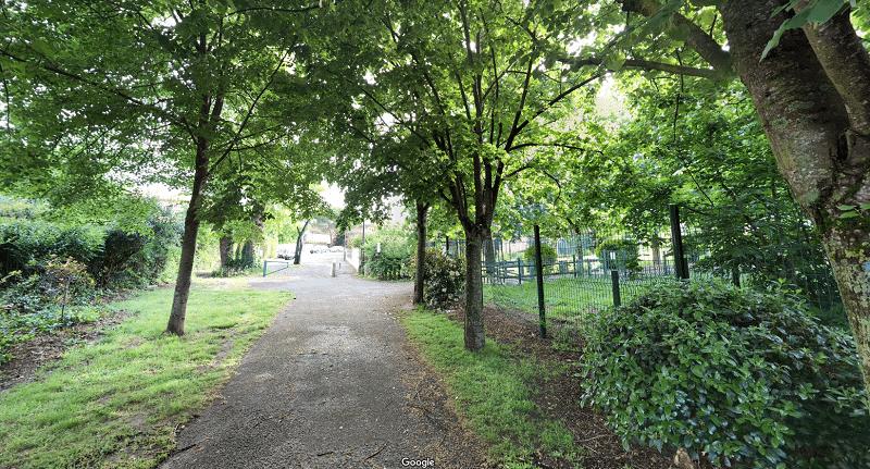 Espace vert dans le quartier Bonnefoy
