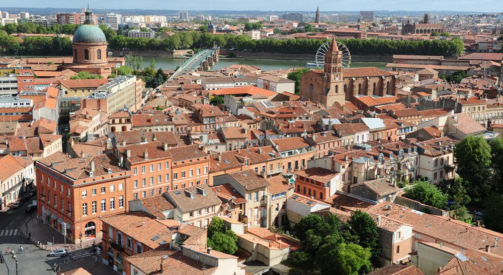 Quartier rive gauche Toulouse