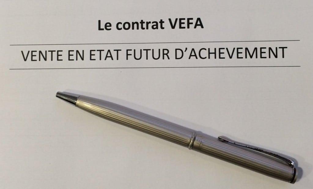 Contrat de réservation en vefa -  immobilier neuf