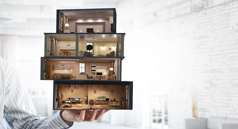 maison aménagée pour une vente avec le home staging
