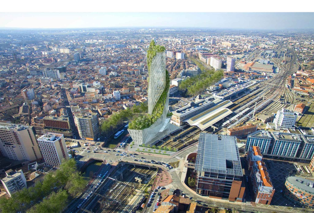 Occitanie Tower - Studio Libeskind - La Compagnie de Phalsbourg