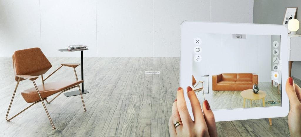L'application Innersense imagine votre meuble, chez vous