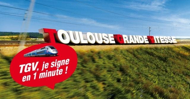 Pétition pour le TGV à Toulouse