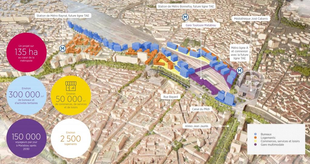 Projet d'urbanisation Toulouse EuroSudOuest