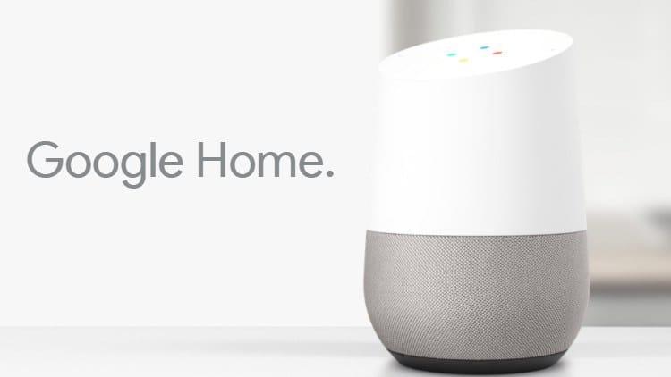 Présentation du Google Home pour les logements connectés