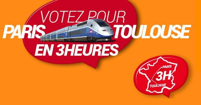 La pétition pour la LGV à Toulouse a été relancée