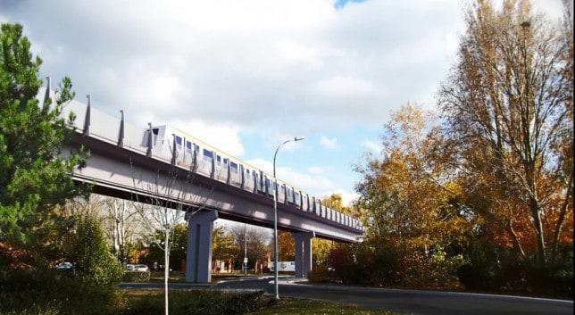 Prolongement du métro ligne B jusqu'à Labège