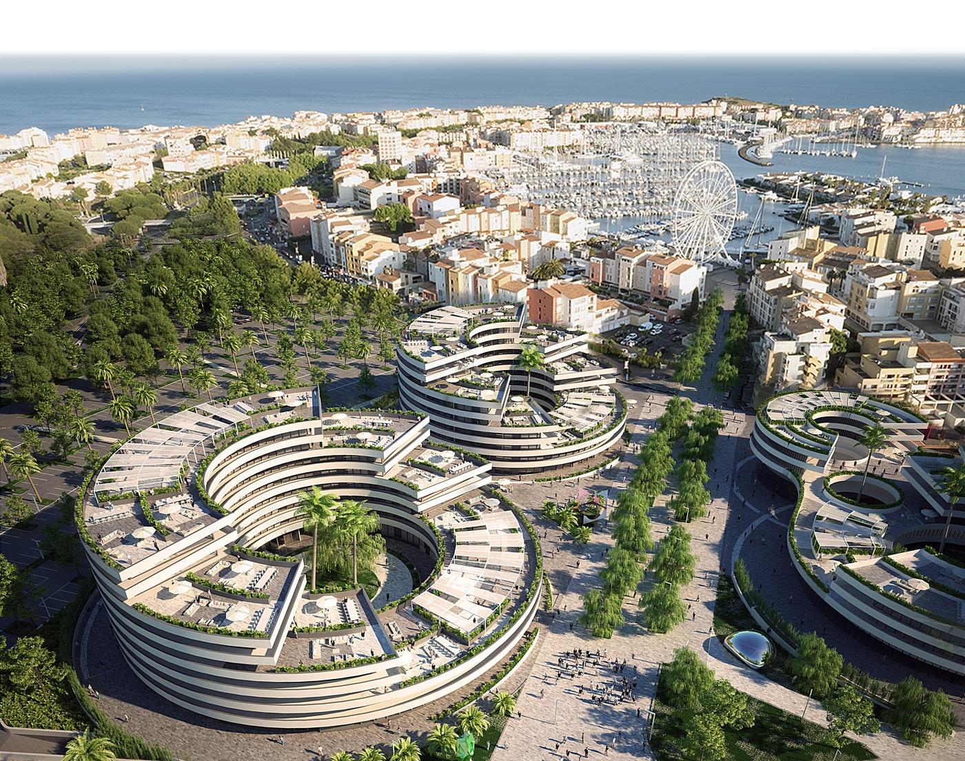 Projet immobilier ICONIC au Cap d'Agde