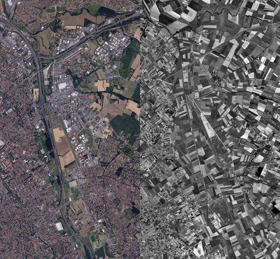 Vue aérienne de Balma