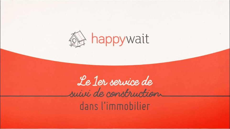 Happywait est une startup immobilière