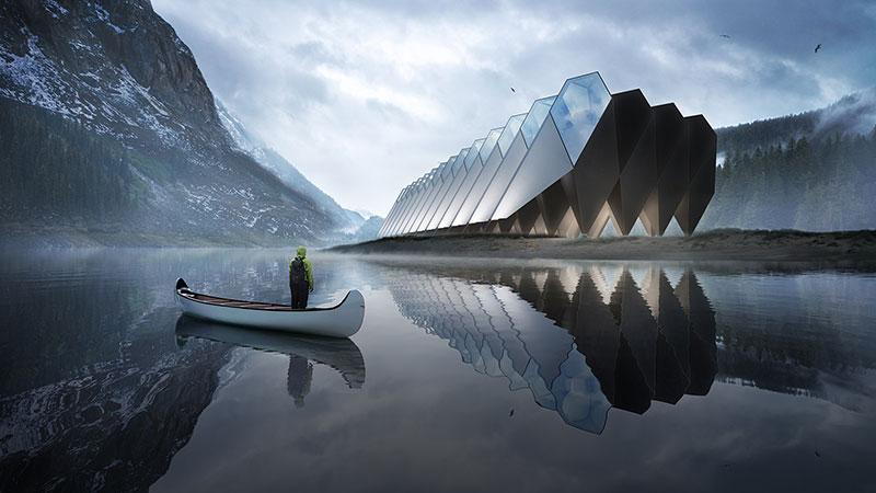 L'hôtel futuriste bientôt en construction