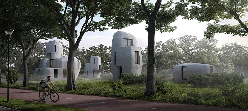 Les maisons du projet Milestone