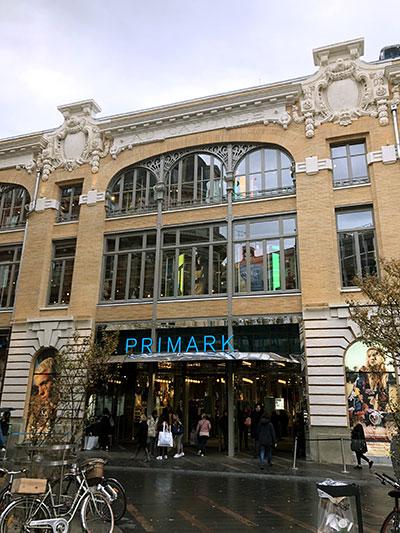 Entrée de Primark rue de Rémusat