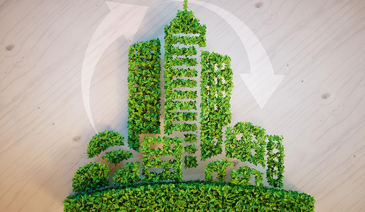 Immeuble rénové aux capacités énergétiques satisfaisantes.