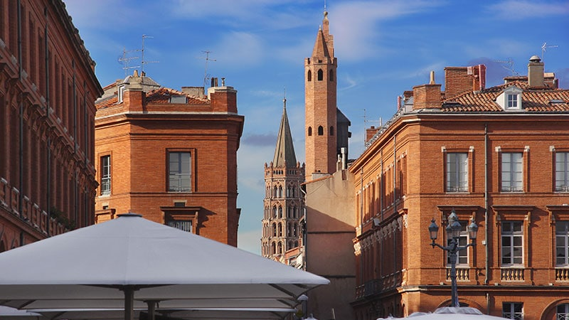 Centre-ville de Toulouse
