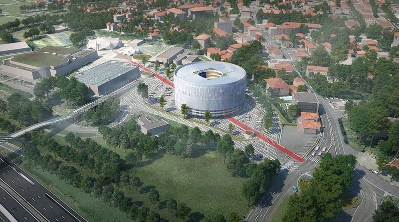 Complexe esport à Toulouse